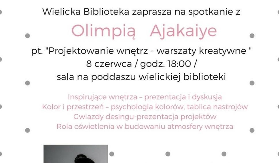Film do artykułu: Wieliczka. Warsztaty projektowania wnętrz z Olimpią Ajakaiye