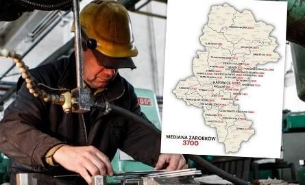 Mapa zarobków w woj. śląskim: Zobacz, kto zarabia najlepiej, w jakim mieście w zależności od wieku, stażu pracy i wielkości firmy.