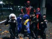 Jak Deadpool spędzał Halloween? Zbierając drużynę X-Men
