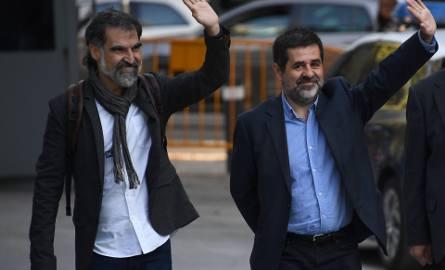 Jordi Cuixart i Jordi Sanchez