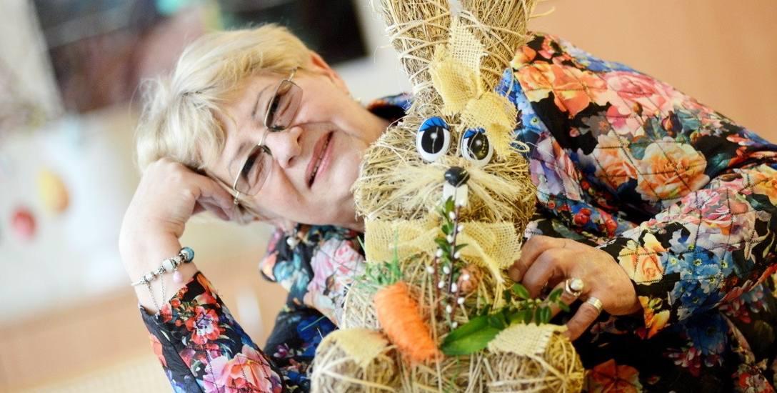 Wanda Maciejewska z Zielonej Góry kultywuje rodzinne tradycje wielkanocne. Wśród ozdób nie może zabraknąć zająca. Wspomnieniami z dawno obchodzonych