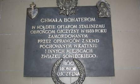 Tablica  ku czci ofiar Zbrodni Katyńskiej  zostanie odsłonięta 1 marca w kościele pw. Najświętszego Serca Pana Jezusa na pl. Piastowskim w Bydgoszcz