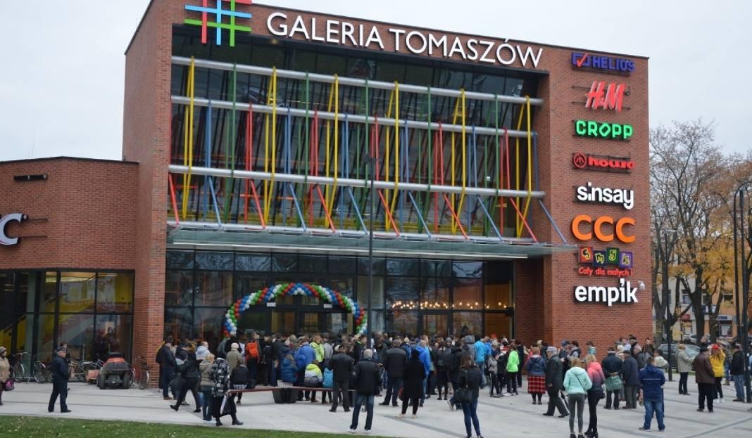 Galeria Tomaszów oficjalnie otwarta. Na otwarciu prezydent