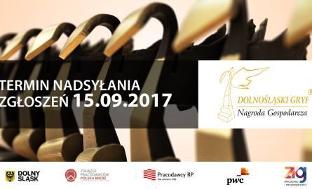 """14. edycja Konkursu """"Dolnośląski Gryf – Nagroda Gospodarcza"""" - dołącz już dziś."""