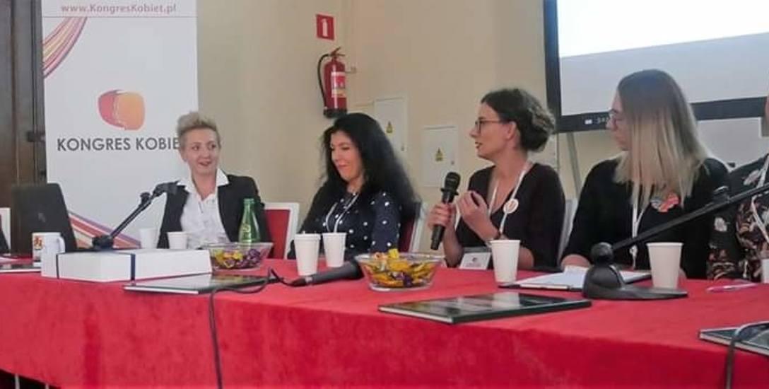 Radna miejska Dominika Piotrowska podejmuje się kolejnych wyzwań i zadań. W weekend uczestniczyła w Kongresie Kobiet w Warszawie.