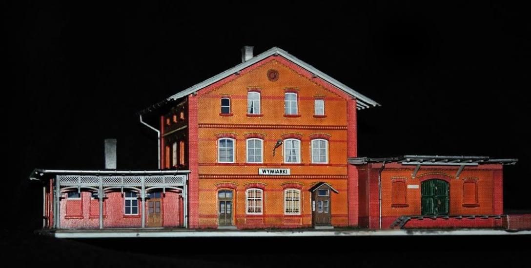 Dworzec został wykonany w skali 1x87