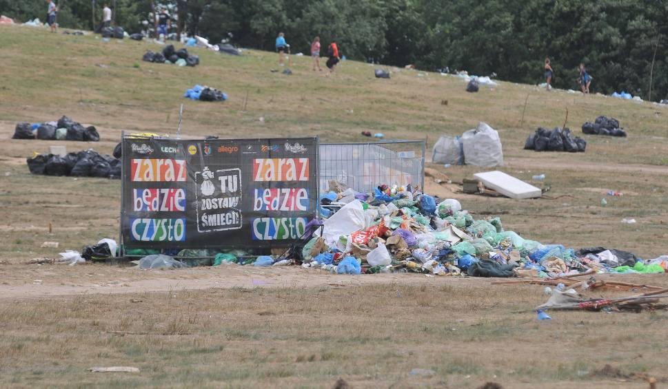 Film do artykułu: PolAndRock Festival 2018: w Kostrzynie trwa wielkie sprzątanie festiwalowej łąki [WIDEO, ZDJĘCIA]