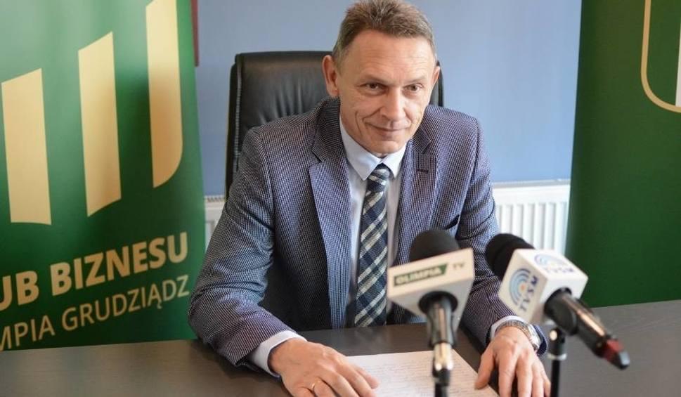 Film do artykułu: Olimpia Grudziądz bez prezesa. Sylwester Szałkowski złożył rezygnację!