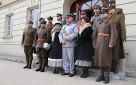 Dziesiątacy z Łowicza na urodzinach marszałka Piłsudskiego [Zdjęcia]