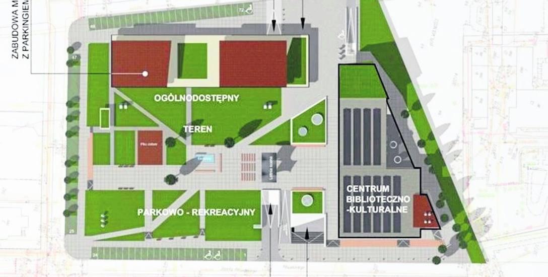 To wstępna koncepcja zabudowy placu Wolności. Inspiracją mają być wyniki dialogu technicznego, który pozwoli jak najlepiej przygotować się do wyboru