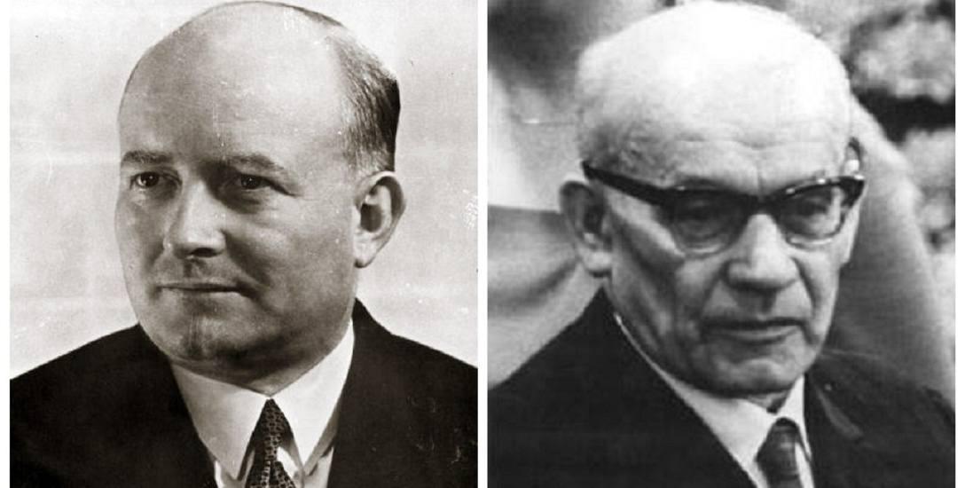 Stanisław Mikołajczyk (z lewej) z PSL i Władysław Gomułka z PPR - przegrany i wygrany sfałszowanych wyborów w 1947 roku