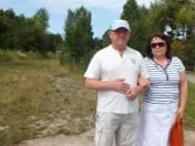 Grzegorz i Jolanta Olejnikowie nie chcą, żeby las został wycięty. Woleliby nowy park od kolejnego centrum handlowego