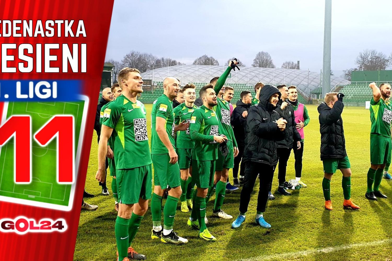 Najlepsza jedenastka jesieni Fortuna 1 Ligi!