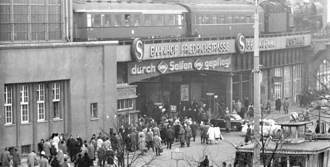 Berlin - dworzec Friedrichstrasse