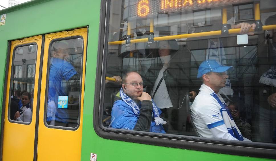 Film do artykułu: Pojemniejsze autobusy i dodatkowe kursy tramwajów przed meczem Lech Poznań - Cracovia Kraków
