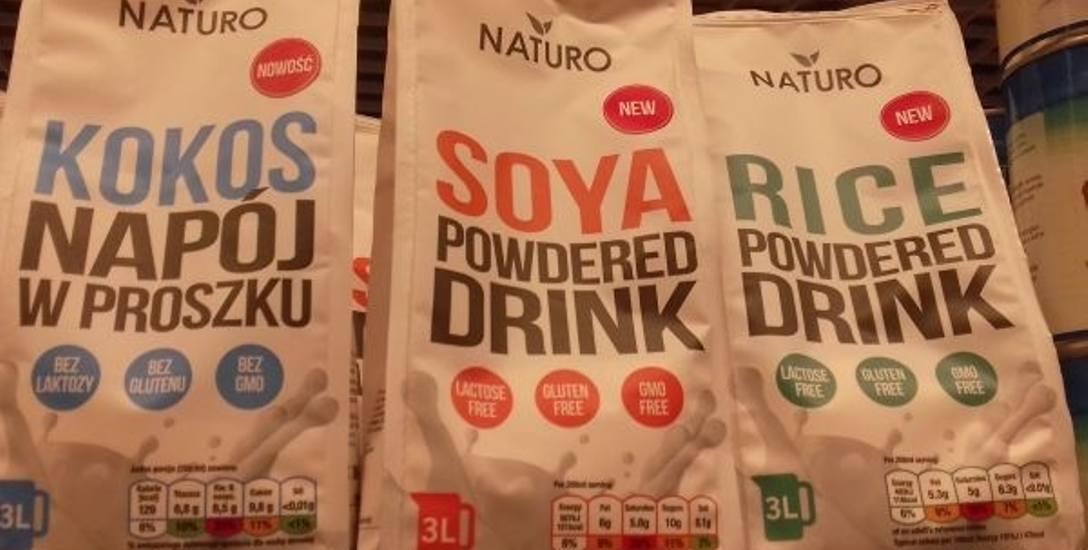 Mleko roślinne coraz bardziej popularne, także w wersji sproszkowanej