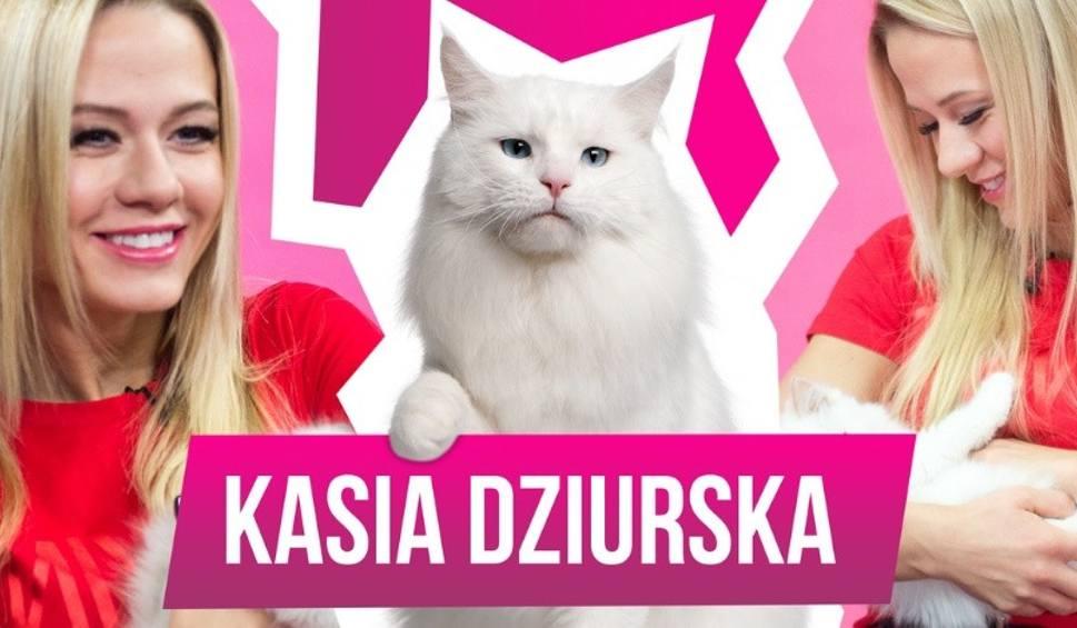 """Film do artykułu: Kasia Dziurska w programie """"MiauCzat"""" o bolesnej historii z dzieciństwa i Ewie Chodakowskiej!"""