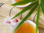 Inspirowane zieloną herbatą