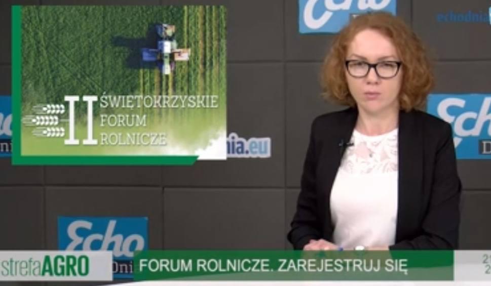 Film do artykułu: Strefa Agro. O stawkach z unii na forum. Nowe działania z Programu Rozwoju Obszarów Wiejskich