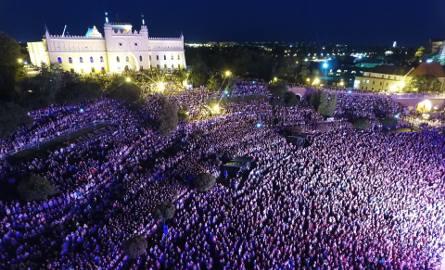"""Koncert """"Zakochani w Lublinie"""" na placu Zamkowym"""