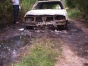 Powiat wieruszowski: W spalonym samochodzie znaleziono zwęglone zwłoki