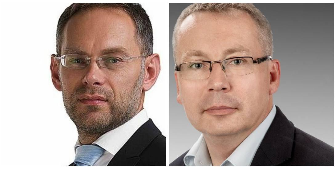 Konrad Antkowiak i Miłosz Czopek - kandydaci na burmistrza Wschowy. Wniedzielę odbędzie się druga tura wyborów