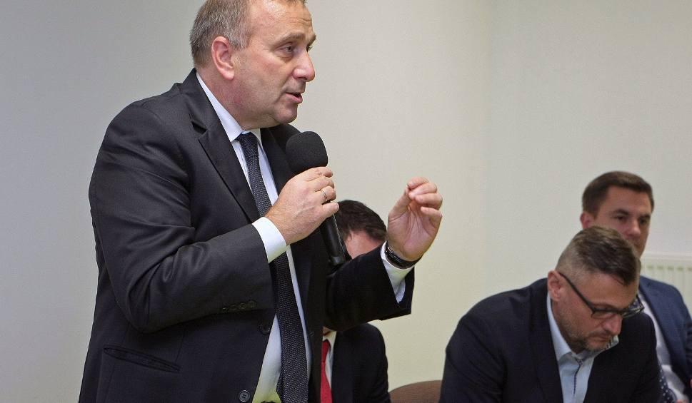 Film do artykułu: Grzegorz Schetyna zabiegał o głosy członków PO w Grudziądzu [zdjęcia]