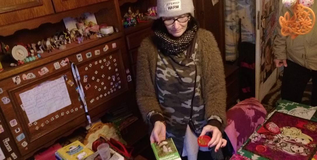 """Pani Dorota w sanepidzie otrzymała broszurę """"Bezpieczne grzybobranie"""""""
