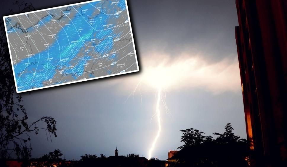 Film do artykułu: Burze w lany poniedziałek. Ostrzeżenia IMGW [radar burz - 13.04.2020]
