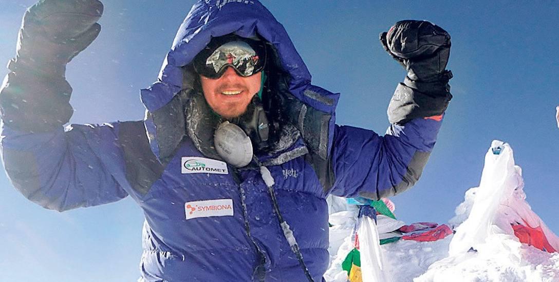 Sanoczanin Łukasz Łagożny po zdobyciu Mount Everestu jest już w domu