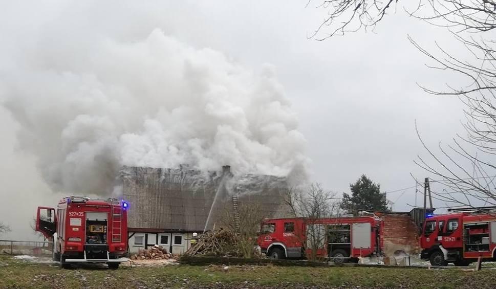 Film do artykułu: Pożar w Marszewie. Apel o pomoc dla pogorzelców