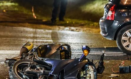 W ub. roku w Polsce na drogach doszło do 2299 wypadków z udziałem motocyklistów. Zginęły 244 osoby.