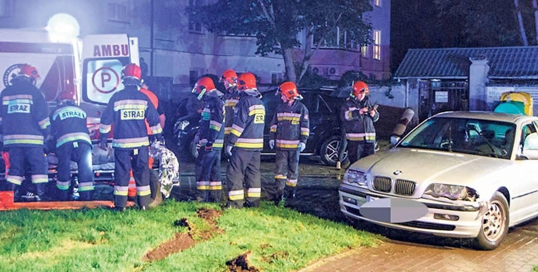 Do wypadku doszło 11 sierpnia w Kołobrzegu na ul. Szpitalnej. Był wieczór, padał deszcz. Rodzina wracała piechotą z portu - wróciła właśnie z wycieczki