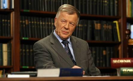 Profesor Jan Miodek.