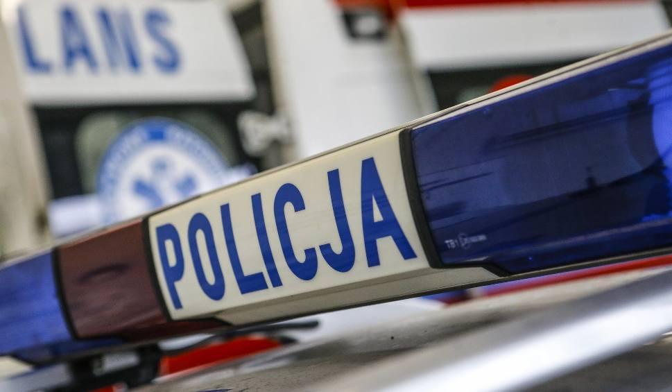 Film do artykułu: Wypadek w Łężanach koło Krosna na DK 19. Ranna kobieta