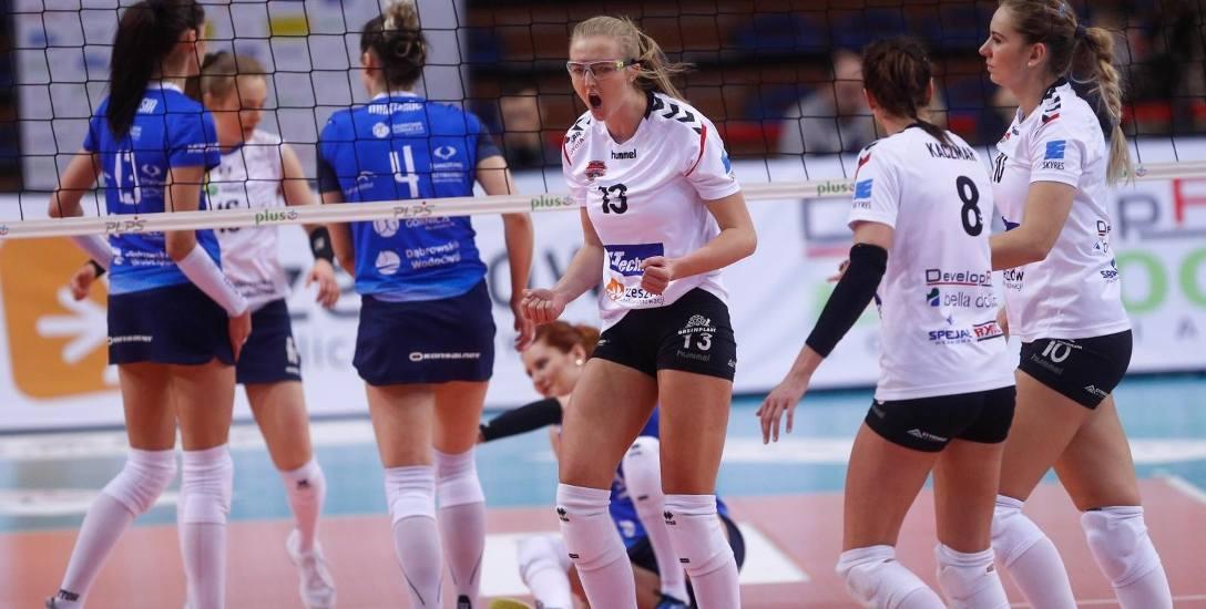 Kamila Ganszczyk dostała szansę gry w całym meczu przeciwko MKS-owi Dąbrowa Górnicza, może być solidnym wzmocnieniem Developresu w końcówce sezonu.