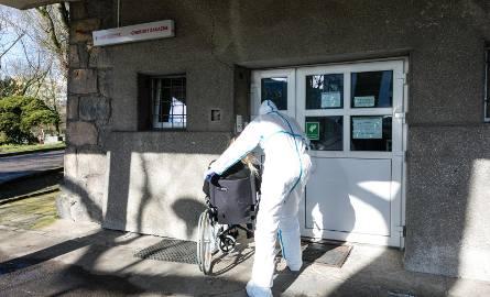 Szpital przy ul. Arkońskiej w Szczecinie