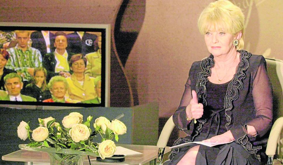"""Stanisława Ryster, prowadząca """"Wielką Grę"""" do 2006 roku, ma dziś 74 lata i wróciła do telewizji - zagrała w reklamie"""