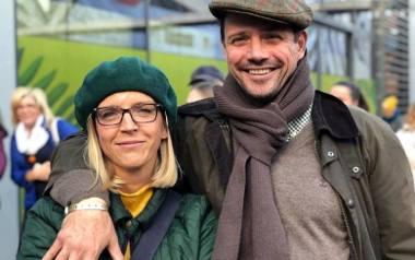 Małgorzata i Rafał Trzaskowscy w czasie kampanii wyborczej przed wyborami na prezydenta Warszawy.
