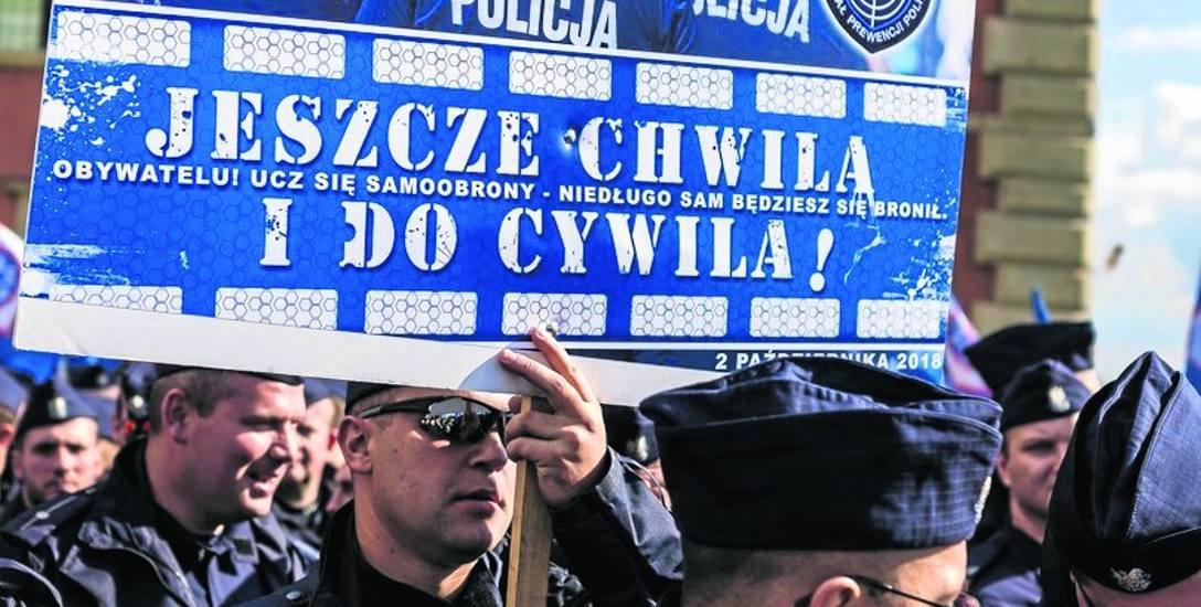 Policjanci masowo odchodzę na L-4