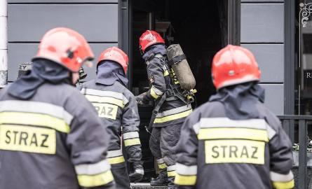 Strażacy zostali wezwani do pożaru w Grębocinie.
