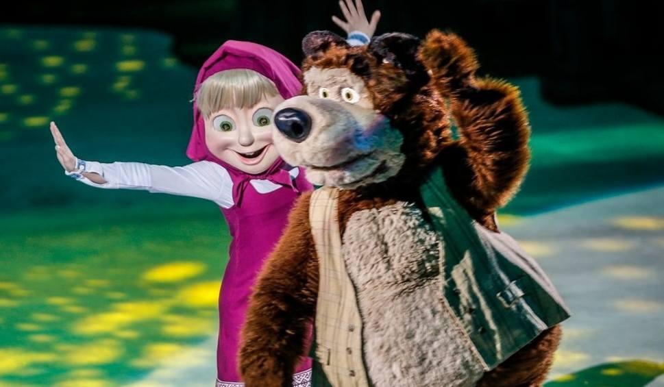 Film do artykułu: Masza i Niedźwiedź zatańczyli w Ergo Arenie [zdjęcia]