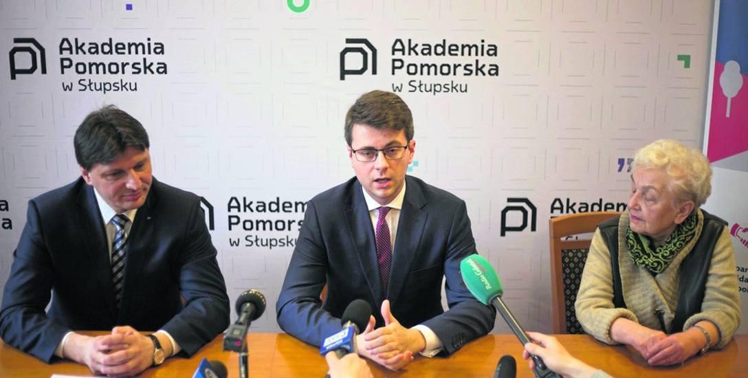 Wiceminister Piotr Müller w Akademii Pomorskiej w poniedziałek