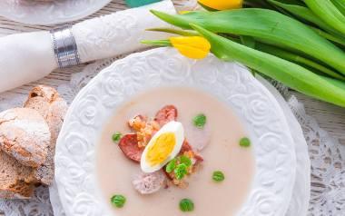 Żurek wielkanocny przepis, krzonówka, pituch. Wielkanocne zupy z Małopolski [TOP 10 PRZEPISÓW]