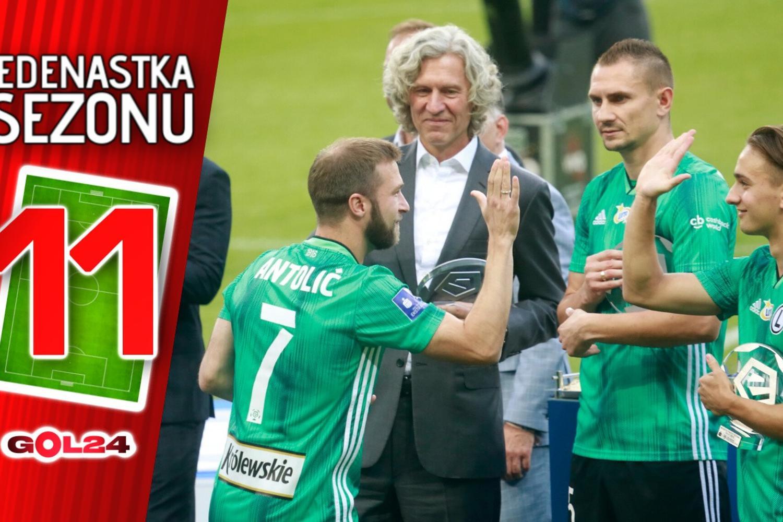 Jedenastka sezonu PKO Ekstraklasy
