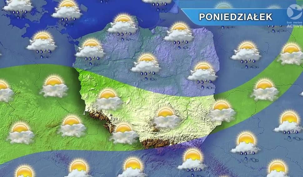 Film do artykułu: Pogoda w Opolu i na Opolszczyźnie. Poniedziałek znów deszczowy