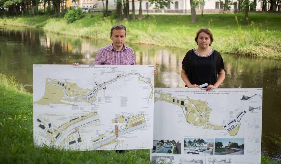 Film do artykułu: Słupsk rozpoczyna proces rewitalizacji miejskich bulwarów nad rzeką Słupią