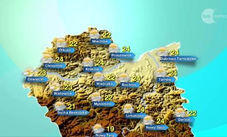Pogoda na czwartek, 24 sierpnia. Będzie cieplej!
