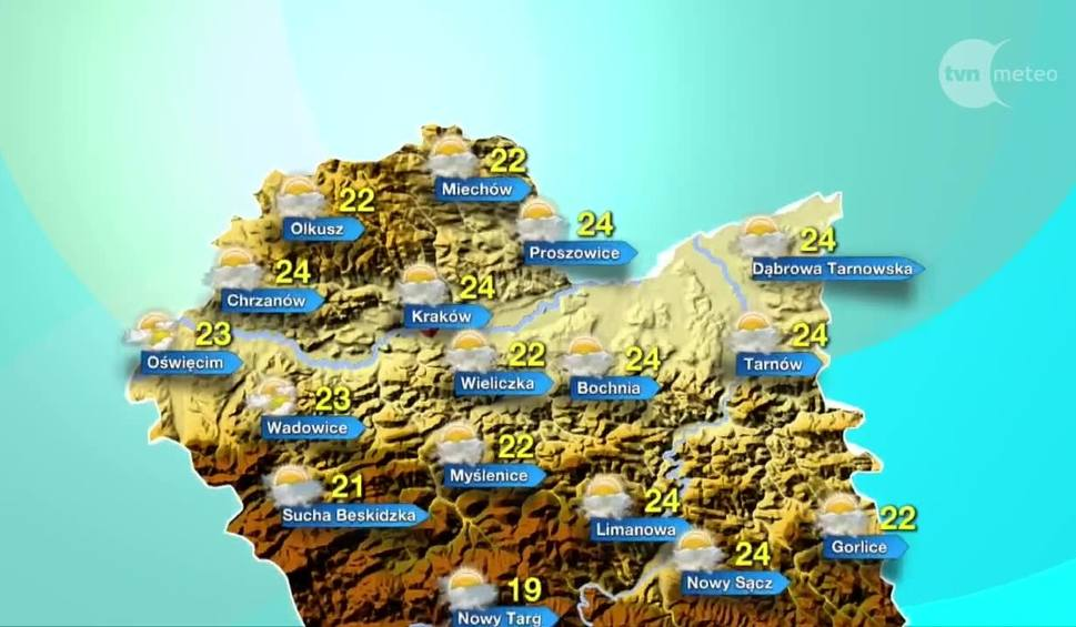 Film do artykułu: Pogoda na czwartek, 24 sierpnia. Będzie cieplej!