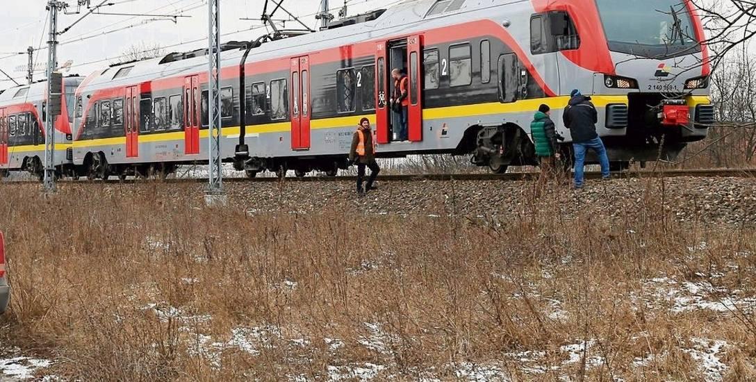 Pociąg potrącił  14-latka! Do potrącenia doszło na torach w okolicy   ul. Sobolowej